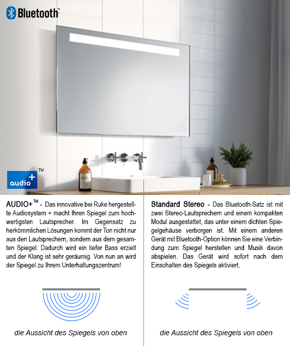 BADSPIEGEL IMPRESS LED : Spiegelkonzept.de