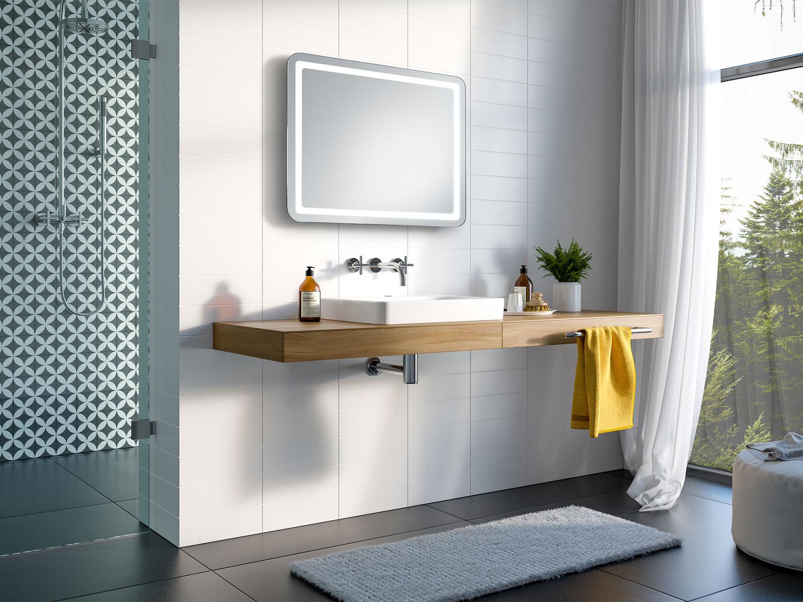 Groß Do It Yourself Framing Einen Badezimmerspiegel Fotos ...